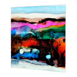 Original Hand-painted Direct from Artist - Jon Allen - Abstract Ardent Modern 1 - Original Painting by Jon Allen - Abstract Ardent Modern 1   by Jon Allen