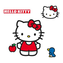 York Wallcoverings - Hello Kitty Wall Accent Sanrio Classic Kitty Giant Decal - FEATURES: