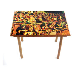 My Méz - Clay Musicians Table/Wall Art - It's a table; It's wall art. It's BOTH, and It's Made In the USA!