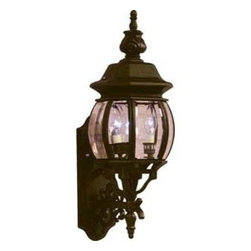 Artcraft Lighting - Artcraft Lighting AC8360RU Classico Rust Outdoor Wall Sconce - Add a fine touch of European style to your home's exterior with wall-mounted lanterns. The clear glass and rust finish provides an elegant light for your front porch, side wall or garage door. You'll love coming come to a well-lit and stylish glow.