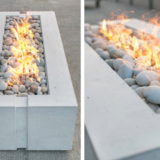 Modern Fire Pits by Dekko Concrete Decor