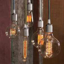 Industrial Incandescent Bulbs by Iron Accents