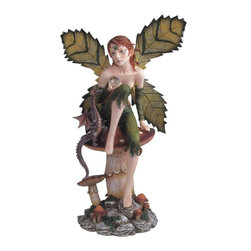 GSC - Fairy Collection Pixie on Mushroom Decoration Figurine Collectible - This gorgeous Fairy Collection Pixie on Mushroom Decoration Figurine Collectible has the finest details and highest quality you will find anywhere! Fairy Collection Pixie on Mushroom Decoration Figurine Collectible is truly remarkable.