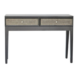 Crestview Collection - Crestview Collection CVFZR353 Harrison Sofa Table - Crestview Collection CVFZR353 Harrison Sofa Table