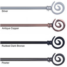 Contemporary Curtain Poles by Overstock.com