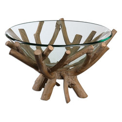 Uttermost - Wood Thoro Natural Wood Bowl - Wood Thoro Natural Wood Bowl