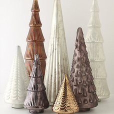Contemporary Christmas Decorations by Anthropologie