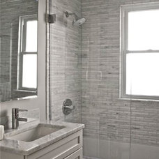 Modern Bathtubs by Dulles Glass and Mirror