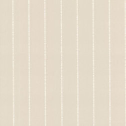 Brewster Home Fashions - Hennessy Champagne Dashed Stripe Wallpaper Bolt - With a champagne coating and dashed stripe design, this posh wallcovering adds a deluxe suede effect to walls in a rich array of neutral tones.