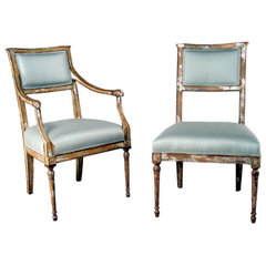 traditional armchairs by Niermann Weeks