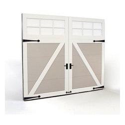 Clopay Garage Doors - Clopay Coachman Series carriage style steel door. Overhead Garage Door, Inc.  1-888-459-3720.