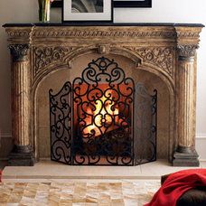 traditional fireplace accessories by Horchow