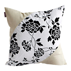 Blancho Bedding - Floral World Linen Stylish Patch Work Pillow Floor Cushion 19.7 by 19.7 inches - Aesthetics and Functionality Combined. Hug and wrap your arms around this stylish decorative pillow measuring 19.7 by 19.7 inches, offering a sense of warmth and comfort to home buddies and outdoors people alike. Find a friend in its team of skilled and creative designers as they seek to use materials only of the highest quality. This art pillow by Onitiva features contemporary design, modern elegance and fine construction. The pillow is made to have invisible zippers, linen shells and fill-down alternative. The rich look and feel, extraordinary textures and vivid colors of this comfy pillow transforms an ordinary, dull room into an exciting and luxurious place for rest and recreation. Suitable for your living room, bedroom, office and patio. It will surely add a touch of life, variety and magic to any rooms in your home. The pillow has a hidden side zipper to remove the center fill for easy washing of the cover if needed.