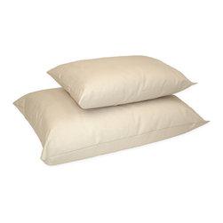 Naturepedic - Organic Cotton/Kapok Pillow - Standard Size - Organic Cotton Pillow - Standard
