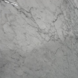 White Carrara marble -