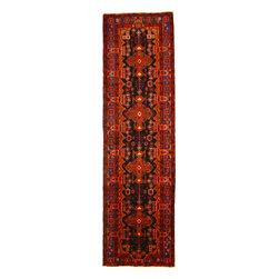 eSaleRugs - 3' 10 x 14' Nahavand Persian Runner Rug - SKU: 110891510 - Hand Knotted Nahavand rug. Made of 100% Wool. 20-25 Years.