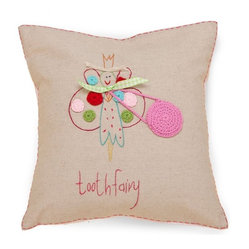 Living Life Tooth Fairy Pillow with Fairy