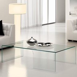 ZUO Modern - Sabbatical Coffee Table in Tempered Glass - 404123