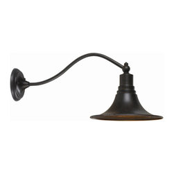 "World Imports - World Imports WI9097 1 Light 9.75"" Height Outdoor Wall Sconce from the Dark Sky - Dark Sky Kingston Collection 1 Light 9.75"" Height Outdoor Wall SconceThe Dark Sky Kingston Outdoor Collection features aluminum and brass construction. Dark Sky compliant. Use indoors or out.Features:"