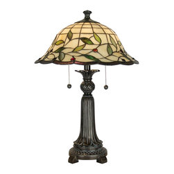 Dale Tiffany - Dale Tiffany TT60574 Donavan Traditional Tiffany Table Lamp - Dale Tiffany TT60574 Donavan Traditional Tiffany Table Lamp