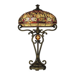 Dale Tiffany - New Dale Tiffany Dragonfly Table Lamp - Product Details