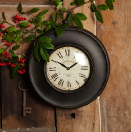 Contemporary Outdoor Clocks by Natural History