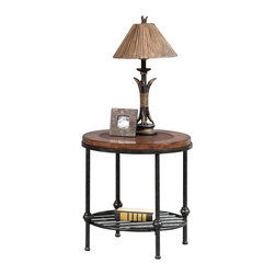 Bassett Mirror - Bentley Tiered Console Table - Faux Leather and Wood Tops with Gun Metal Base. Measures: 50 in. W x 18 in. D x 30 in. H. Part of the Bentley Collection.