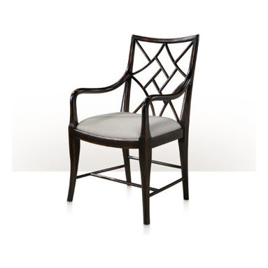 Abbie Cockpen Chinese Chippendale Dining Chair (NEW!) -
