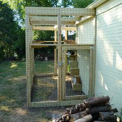 Cat Enclosure and Playground - C.K. Remodeling & Design