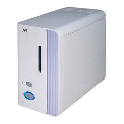 SPT Appliance - Warm-Mist Humidifier w Fragrance Oil Diffuser - ETL listed. 2.5 liters tank capacity. 2-hour timer function. Up to 8 hours run time. Water level window. Auto shut-off protection. Water-out indicator. 330 ml/h moisture output. Soothing warm mist operation. Diffuser for medication or fragrance oil. Boils water to remove most germs and bacteria. Input voltage: 120V / 60Hz. Power consumption: 280 W. Water tank capacity: 2.5 liters. Steam emission autonomy: up to 8 hours. Cord length: 6.5 ft.. 11 in. W x 5.75 in. D x 10 in. H (6 lbs.)This warm-mist humidifier provides soothing warm moisture to help relieve dry coughs, sinus irritations and itching eyes. Add your own essential oil in the diffuser to aid in therapeutic activities. Easy-to-fill 2.5 liters water tank will provide up to 8 hours of moisture.