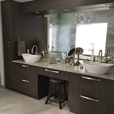 Contemporary Bathroom by Interiors By Lynne