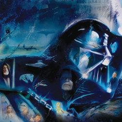 Star Wars - Blu Ray Original Trilogy Movie Poster -