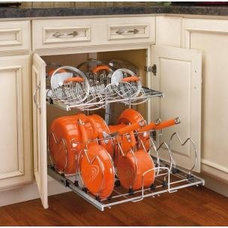 Contemporary Kitchen Drawer Organizers by Home Depot