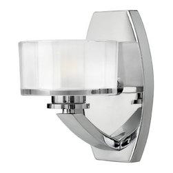 Hinkley Lighting - Hinkley Lighting 5590CM Meridian Chrome Wall Sconce - Hinkley Lighting 5590CM Meridian Chrome Wall Sconce