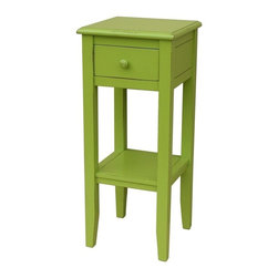 Trade Winds - New Trade Winds Plant Stand Green Painted - Product Details