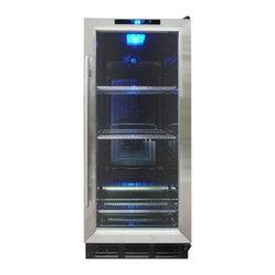 Vinotemp VT-32BCSB10 56+ Can Capacity Beverage Cooler / Fridge - 7174 7174aThe same size as a ...