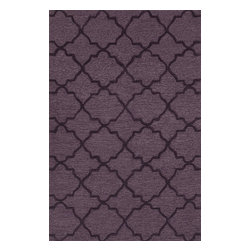 Loloi Rugs - Loloi Rugs Circa Plum Modern / Contemporary Hand-Tufted Rug X-670500LP20-ICARIC - The hand-tufted Circa Collection from China breathes new life into out of date interiors with a series of simple, tonal designs. Available in a range of sophisticated neutral hues and bright colors, these 100% polyester rugs from China have just a hint of shimmer for a polished finish that earns notice without overbearing the room.