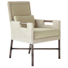 Traditional Dining Chairs by McGuire Furniture Company