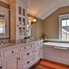 Traditional Bathroom by abodwell interior design- Brittney Fischbeck