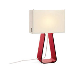 Designer Tube Top Colors Table Lamp By Pablo Pardo - Tube Top 14 is now available in 6 vibrant colors. Combined with a luminous white mesh fabric, the resulting color combination is magical and fully dimmable. Perfect for any toddler's room or the child in you. Mix and match them for the ultimate in color layering.