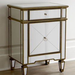 """Iris"" Mirrored Chest -"
