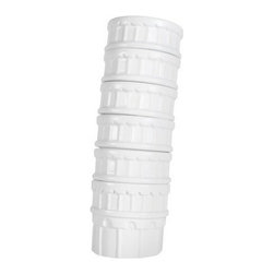 Leaning Tower Cups Set Of 6 - This leaning tower of six is an original idea for stacking cups.