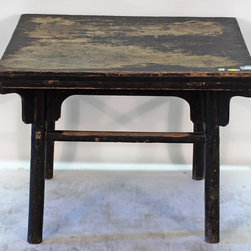 Chinese Antique Low Square or Coffee Table - Chinese Antique Low Square or Coffee Table