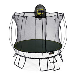 Springfree Trampoline - Springfree® 10ft Trampoline - R79 Medium Round With FlexrHoop and FlexrStep - * World's safest trampoline