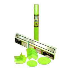 """Trugard Tru-Line - Trugard Shower Kit, 28"""" Tru-Line Linear Drain, 110 Sqft, Tile-in Grate Style - Trugard Complete Shower Waterproofing Kit"""