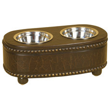 Traditional Pet Bowls And Feeding by Welcome Home Accents