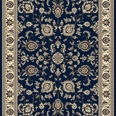 """Radici USA - Traditional Alba 9'10""""x12'10"""" rectangle denim Area Rug - The Alba area rug Collection offers an affordable assortment of Traditional stylings. Alba features a blend of natural Grey-Blue color. Machine Made of Olefin the Alba Collection is an intriguing compliment to any decor."""