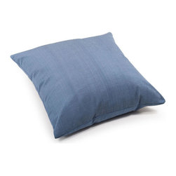 ZUO - Lizzy Outdoor Pillow - Large - The Lizzy Pillow adds a splash of country blue wherever you need it most. Water resistant fabric makes it perfect for the outdoors. Toss by the fire pit or under a tree with a blanket for a picnic. Comes in small or large.