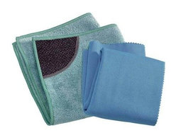E-cloth Kitchen Cleaning Cloth - 2 Pack - Improved! 2012 - The General Purpose Cloth was replaced by the Kitchen Cloth with the built in Scrubbing Pocket for more power when cleaning your kitchen