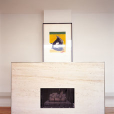 Contemporary Fireplaces by Crosstree, Inc.